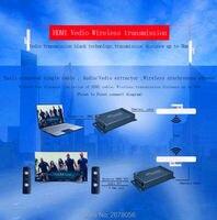 Беспроводной аудио видео Трансмиссия 5.8 ГГц WI FI HDMI Extender открытый 3 км HD 1080 P Беспроводной HDMI приемник передатчик indoor 300 м