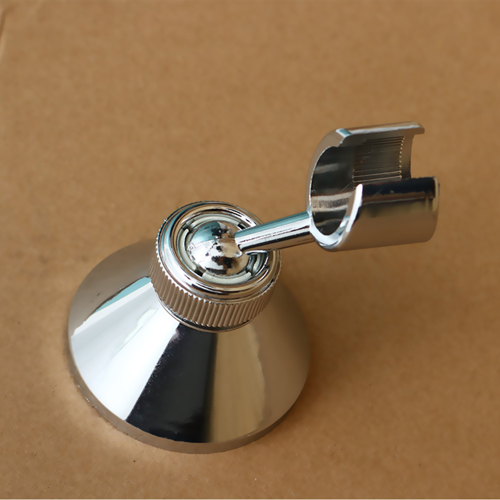 1Set New Rotatable Silver Shower Handset Head Holder CHROME Bathroom Wall Mounted Adjustable Bracket With High Quality