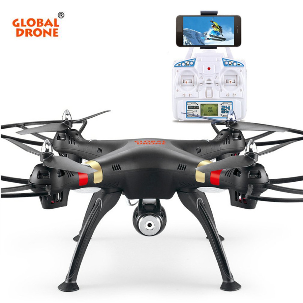 Global Drone Four Axis Aircraft RC Mini Drone Aerial GW 180 Quadcopter 2.4G RC Helicopter Drones Quadrocopter with HD Camera kiind of new blue women s xl geometric printed sheer cropped blouse $49 016