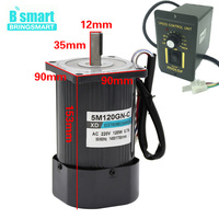 220v Single Phase Motor, Speed Controllers For Electric Motors 220V CW/CCW,120W 1400rpm/2800rpm Adjust Speed High Speed AC Motor