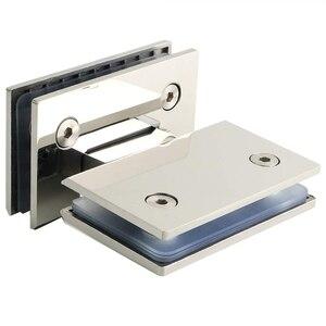 Image 2 - Зажим 180 градусов для дома, простая установка, стеклянный зажим для дверей, шкафов, витрин, зажим для стеклянного душевого шкафа, мебельных петель, сменные детали