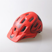 Top Quality Cycling Bicycle XC Helmet Quality 18 Vents Sports Cycling Helmet With Visor Mountain Road
