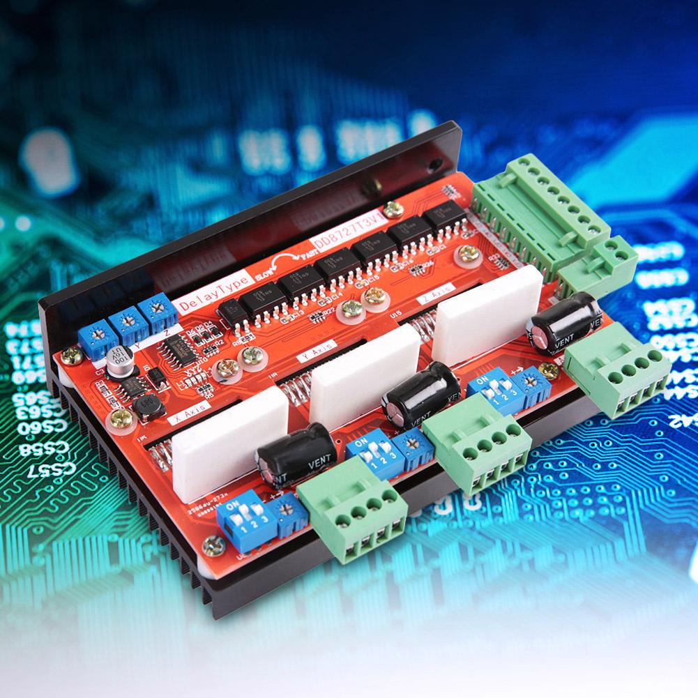 3 Axle 2 Phase 4A Stepper Motor Driver Controller Board 128 Microstep LV8727 DD8727T3V1 Step Motor Driver Module