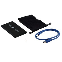 2.5″ Exterior Laborious Drive Enclosure USB Three.zero SATA Exterior Laborious Drive HDD Enclosure/Case  Field New HDD Case Sata