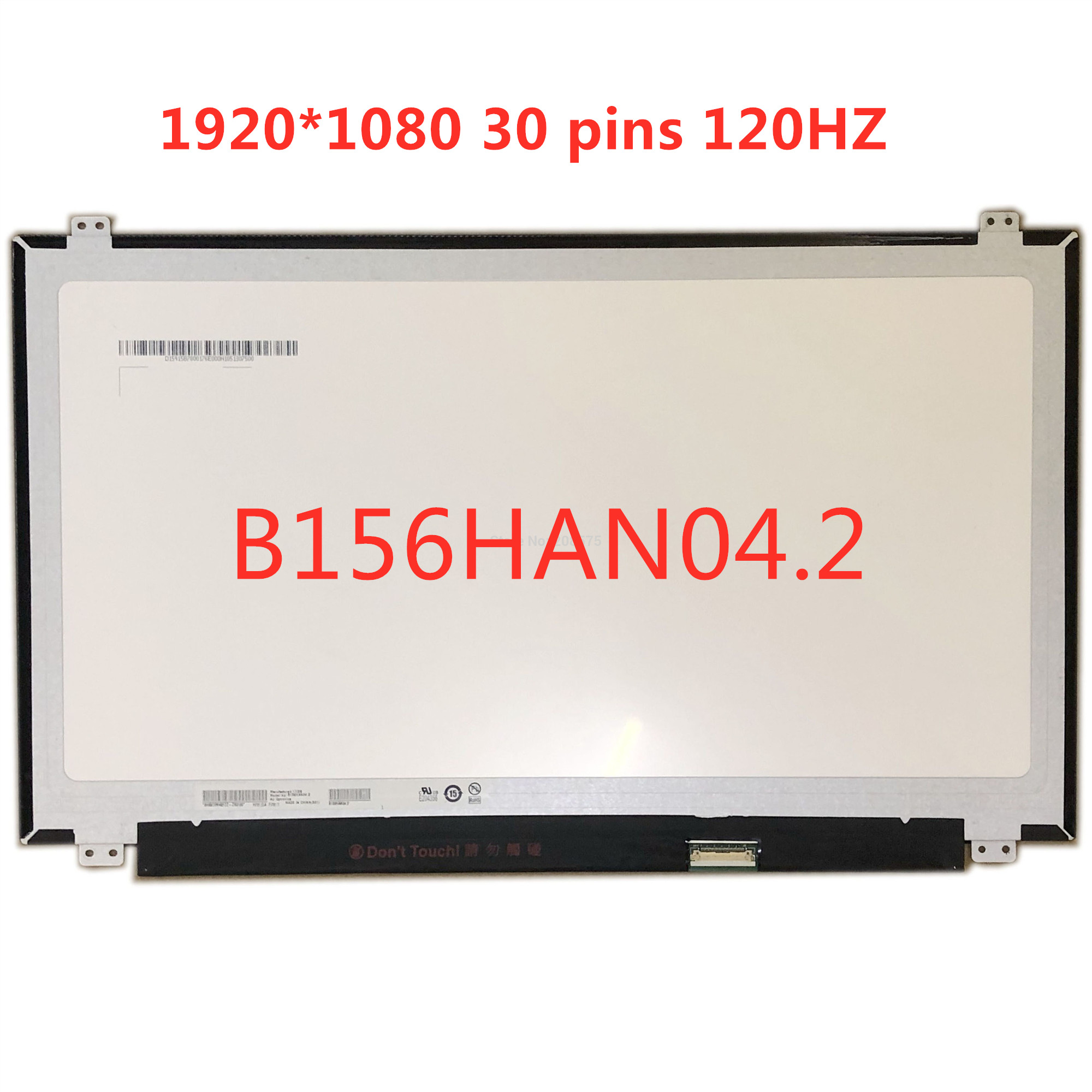 "B156HAN04.2 B156HAN04.2 IPS светодиодный экран 120 Гц ЖК матрица для ноутбука 15,6 ""матовая 1920X1080 FHD 30Pin eDP 120 Гц дисплей|ЖК-экран для ноутбуков|   | АлиЭкспресс"