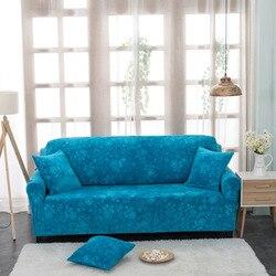 Sunnyrain 1 из 2 предметов толстый бархат Тиснение узор эластичные Чехлы для диванов для дивана чехол Чехол для диван эластичный чехол на диван