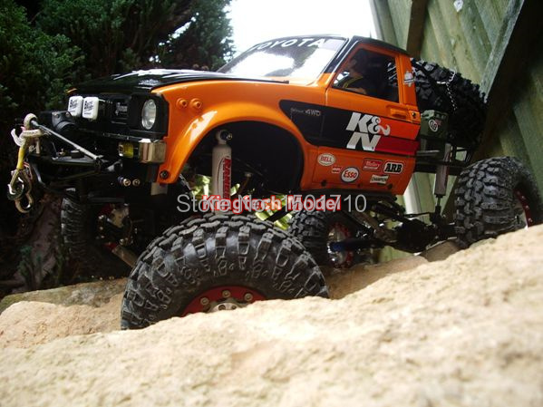 1x Rc4wd 110 Boyer Truggy Chassis 110 Climb Boyer Car Truck Mixing