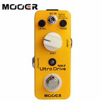 NEW Effect Pedal MOOER Ultra Drive MK 2 Distortion Pedal