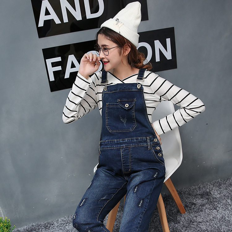 2018 Summer Casual Maternity Jeans Pants Women Jumpsuit Maternity Clothings Pregnant Pants Plus Size Pregnancy Trousers Bottoms high waist jeans women plus size femme stretch slim loose large size jeans pants 2017 casual ankle length haren pants trousers page 4