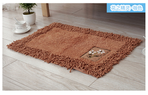 Image 5 - durable bathroom rug set,luxury big size bath tub mat non slip,door bathroom set carpet,bath mats rugs floor,60X90CM, 45X120CM
