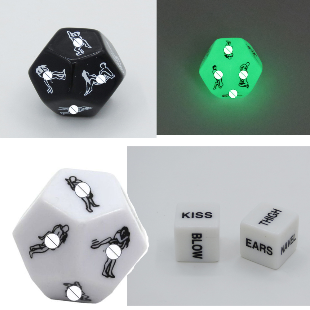 1 PCS Exotic Tricks Dice Game Toy For Bachelor Party Fun Adult Couple Novelty Gift fun toys Adults Funnels image