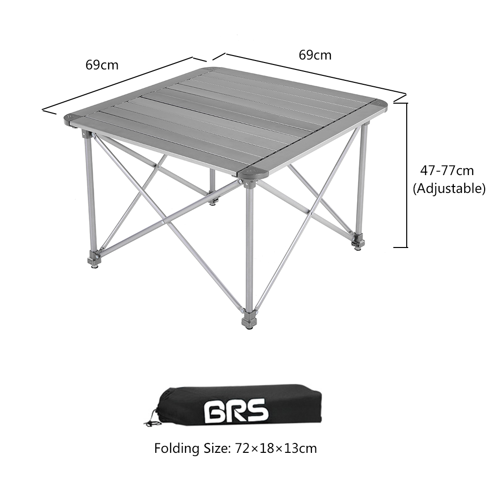 Aliexpress Buy Height Adjustable Folding Table Outdoor