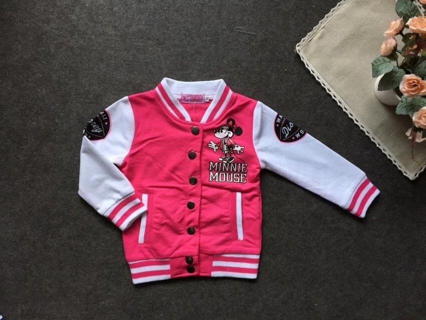 Весна и осень пишет поступление горячей мальчик мода ветровка экспорта куртка дети одежды минни маус ребенка 0 uterwear