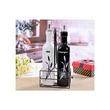Посуда, креативный кухонный керамический горшок для масла, набор соевого соуса, крыжовника, бутылка для приправ, бутылка для приправ, комплект из 2 предметов