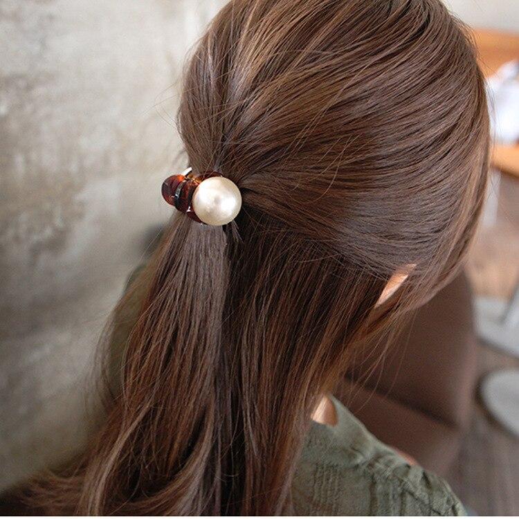 1PC Fashion Women Girls Pearl Crystal Rhinestone Hairpins Mini Crown Hair Claw Vintage Retro Hair Clips accesorios   Headwear