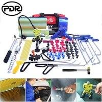 PDR Removing Dent Repair Tool Set Paintless Denting Car Dent Repair Tool Dent Repair Stainless Steel Push Rods Crowbar