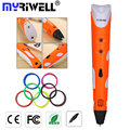 myriwell 3d pen 3d pens 1.75mm abs/pla Filament doodle pen Best Gift for Kids 3d drawing pen-3d model Creative 3 d pen