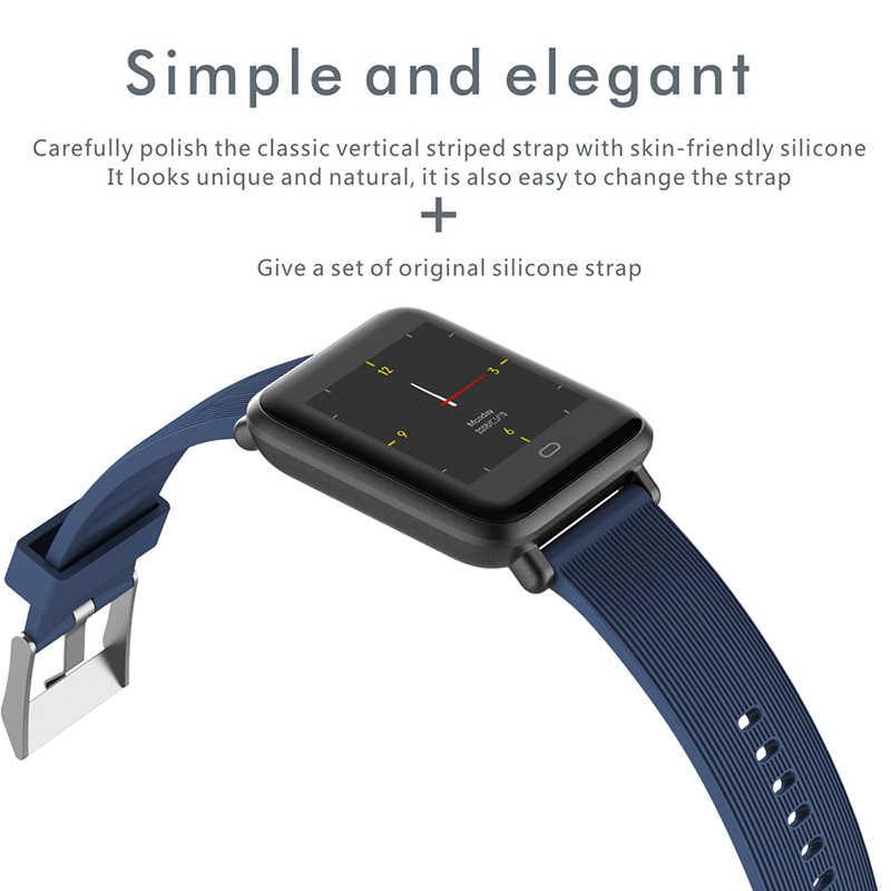XGODY Q9 смарт-браслет Для мужчин Для женщин крови Давление монитор браслет для смарт-часов подключения IOS Android телефон шагомер счетчик шагов
