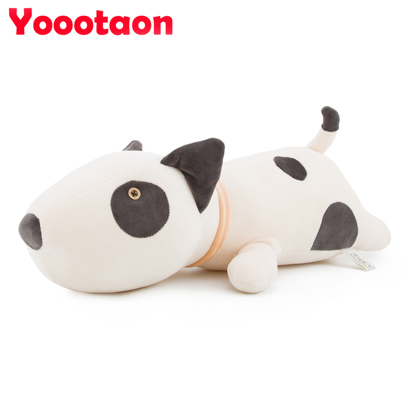 68cm kawaii Bull Terrier dog plush kids toy emoji sleeping pillow toy cute soft baby toys stuffed dolls for children girl gifts bookfong octopus plush toys dolls the cute pillow seat cushion backrest the stuffed toys for children christmas gifts