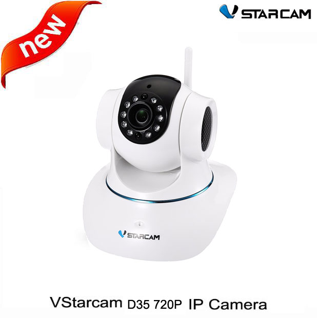 ФОТО Vstarcam D35 720P Wireless WiFi Camera APP Infrared Remote Control IP Camera IR P2P Bullet Camera support 128 Micro SD card