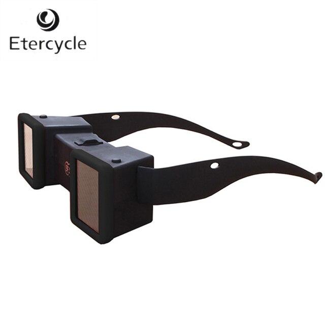 Mini Estéreo 3D Visor Estereoscopio 3D Vidrios de la Película