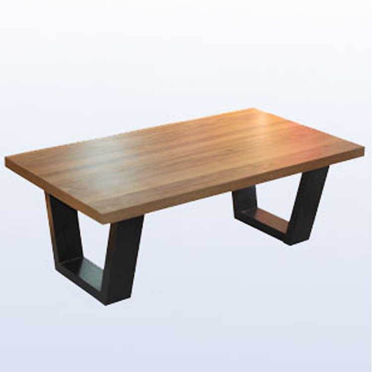 Wholesale Dining Tables: American Retro Dinette Table Wrought Iron Wood Rectangular