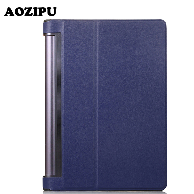 Magnet Flip PU Leather Case for Lenovo YOGA TAB 3 PRO 10.1 X90L/F & Yoga TAB 3 Plus 10.1 YT-X703 Tablet Stand Protective Cover