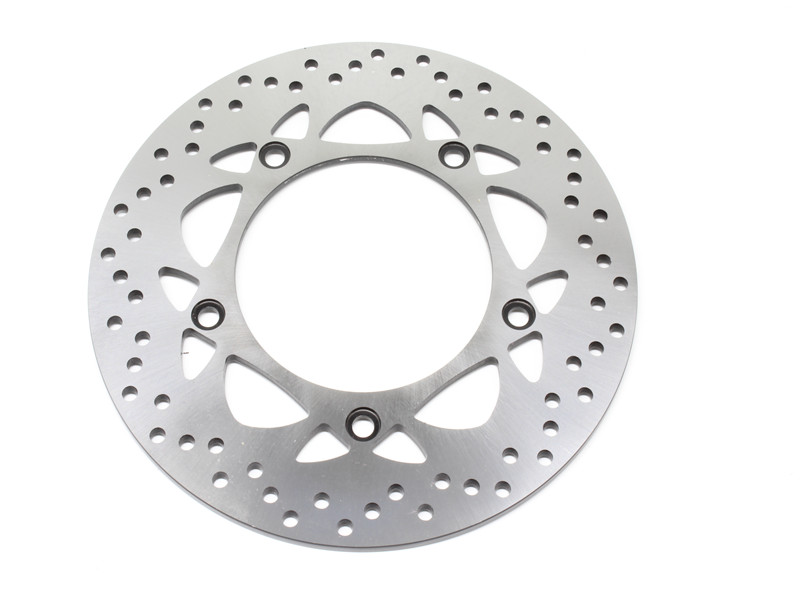 Motorcycle Rear Brake Disc Rotor For Y A M A H A T-Max 500(530cc engine/Non & ABS models) 2012-2014 T-Max 530 Iron Max(ABS) 2015 rear brake disc rotor for yamaha fz1 non abs 06 09 fz6 naked non abs 04 07 fz6 ns naked 05 06 motorcycle