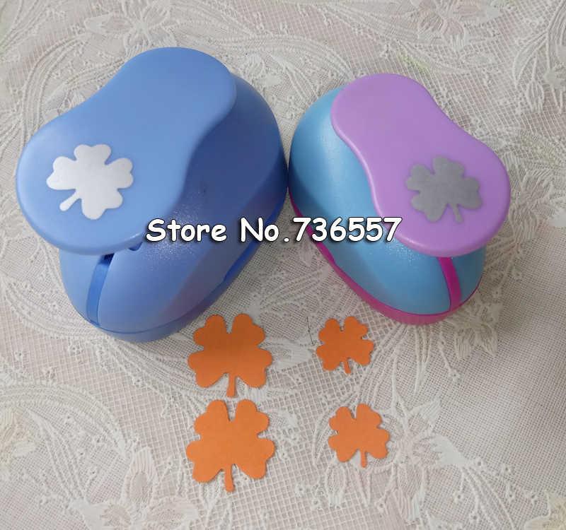 2 pièces (2.3 cm, 1.4 cm) à quatre feuilles forme artisanat poinçon Poinçon Artisanat Scrapbooking école Papier Perforateur eva perforatrice livraison gratuite