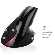 FASTDISK Rechargeable Healthy  rechargeable Li-ion battery wireless vertical ergonomic mouse laser Mice 800-1200-1600DPI