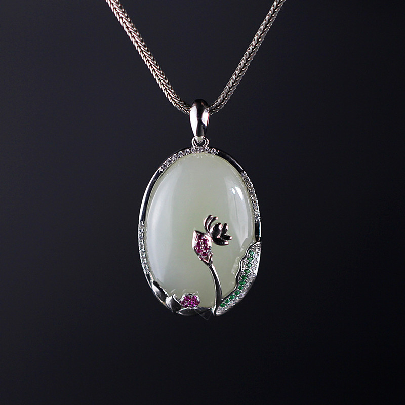 products, explosion, recommend new products and Tian Yu sell well in the style of women's S925 and Tian Yu Pendant цены