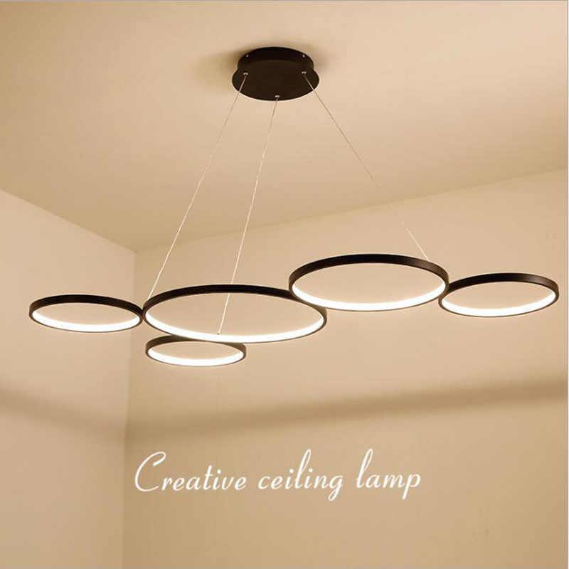 Светодиодный ресторанный светильник креативная лампа для гостиной современная Минималистичная Оригинальная лампа для скандинавского освещения кафе бар офисная люстра