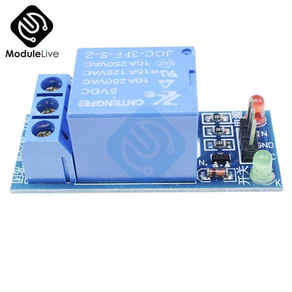 1CH 1 канал релейный модуль интерфейс доска щит для Arduino 5 в низкий уровень триггера один PIC AVR DSP ARM MCU DC AC 220
