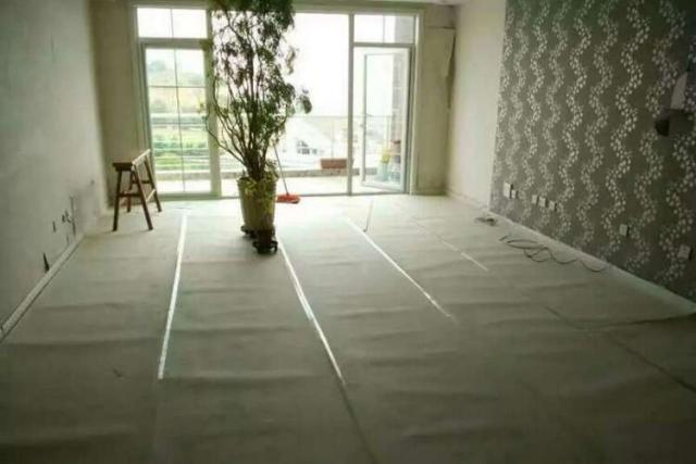 Washable Paper To Protect Flooring During Construction Jobsites