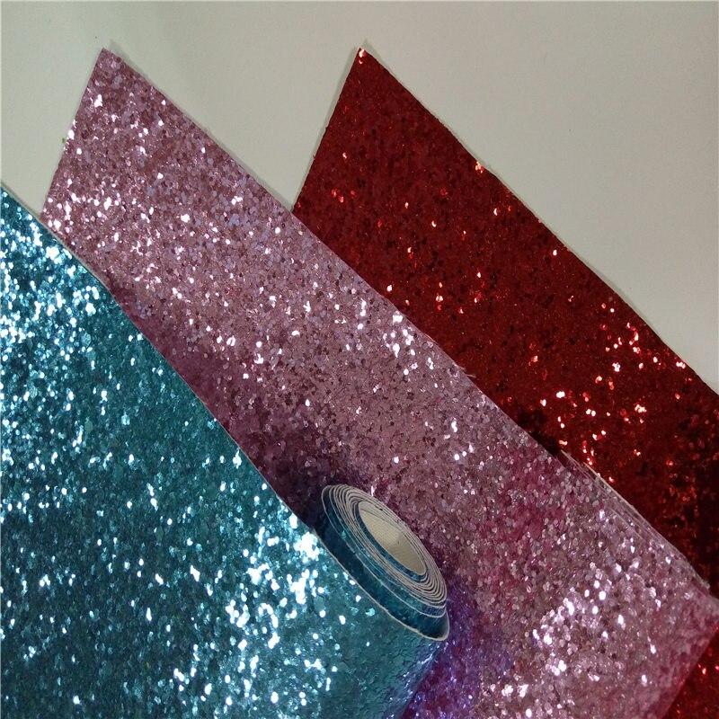 Glitter carta da parati sparkly parete rotolo di carta, per soggiorno bed room