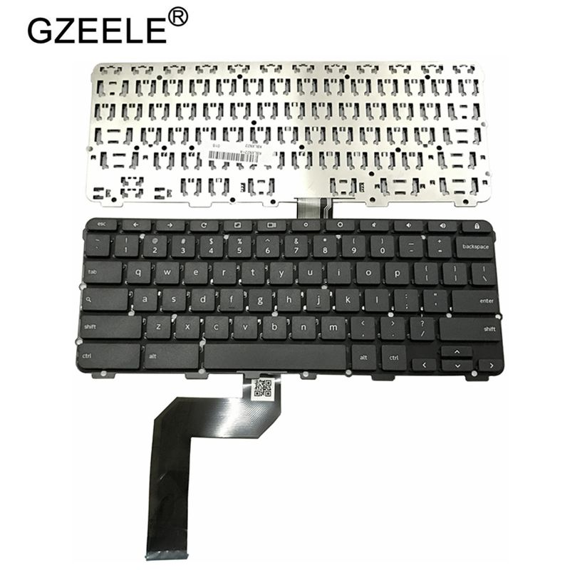 GZEELE US Laptop Keyboard For Lenovo Chromebook N22 N22-20 Touch US Laptop Keyboard Black