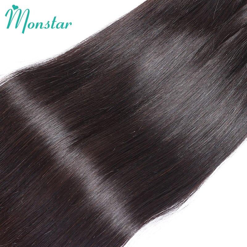 Monstar 1 3 4 Bundel Lurus Remy Rambut Peru Bundel Kesepakatan Manusia  Rambut Pakan Diproses Rambut Murah 8 30 Inch Gratis Pengiriman di Rambut  Tenun dari ... f0be3bd13b