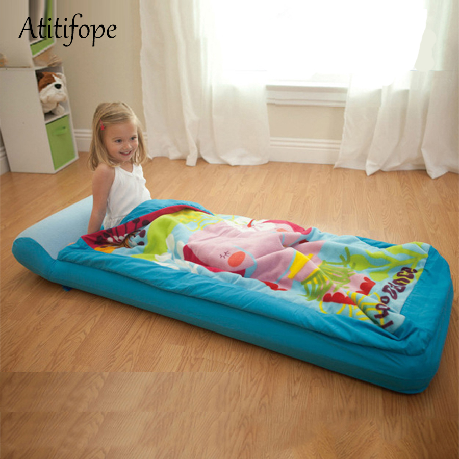 Portable Sleeping Bed For Children Baby Cotton Foldable Bed Removable Crib Portable Bionic Folding Bed Movable Kids' Bed