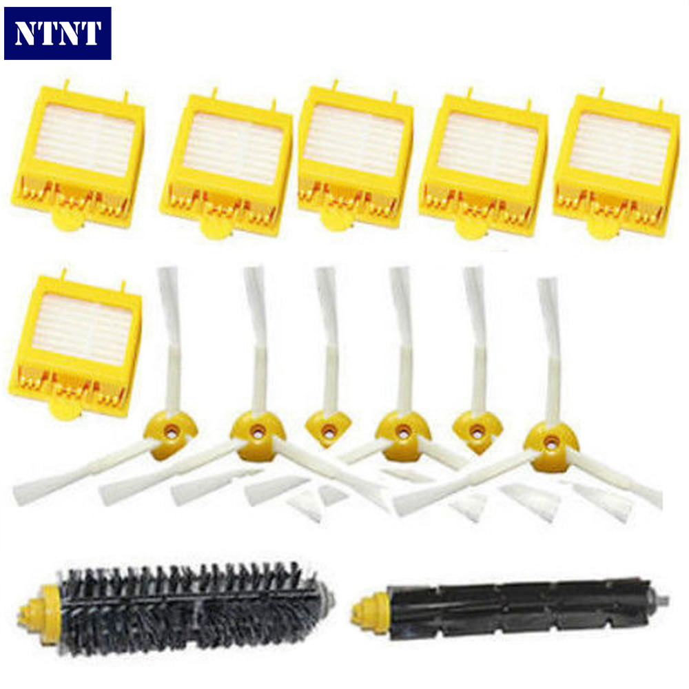 NTNT Free Post New For iRobot Roomba 6 Pcs 3-armed Side Brush Kit 700 Series 760 770 780 Filters ntnt free post new 50x side brush 3 armed for irobot roomba 500 600 700 series 550 560 630 650 760