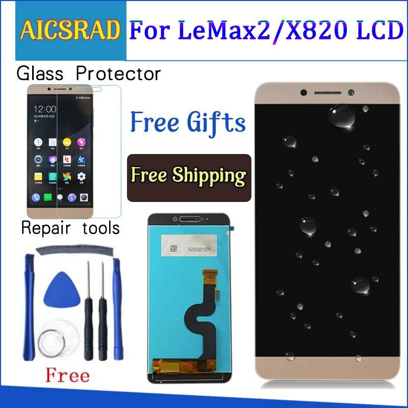 Qualité AICSRAD pour LeEco Le max2 x820 X823 X829 LCD écran tactile numériseur assemblée pour LeEco Le max 2 téléphone