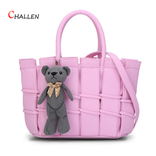 fashion patchwork women bag shoulder crossbody bags large capacity handbags famous design brand women pu clutch soft totes y750