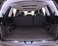 Хорошие коврики! Специальные материалы ствола для Mercedes Benz GL 400 7 мест X164 2012 2006 водонепроницаемый грузового лайнера для GL400 2008, Бесплатная дост