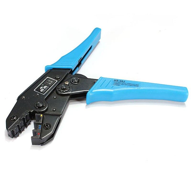 Zuversichtlich Hs-30j Abisolierzange Europ Style Ratsche Crimpen Werkzeug Crimpen Zange 1-6.0mm2 Multi-funktionales Werkzeug Werkzeuge Handwerkzeuge