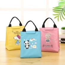 Picnic Bag Cooler-Bag Insulated Women Totes-Girl Panda Waterproof Portable Cartoon Cute