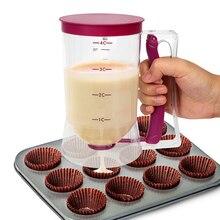 NICEYARD 900 мл дозатор пасты для муки, дозатор пасты, мерный стакан, крем-сператор для кексов, блинов, печенья, торта, инструмент для приготовления маффинов