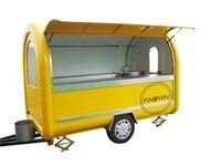 Тележки для еды/Трейлер/грузовик для мороженого/снэк тележки для еды с нержавеющей сталью