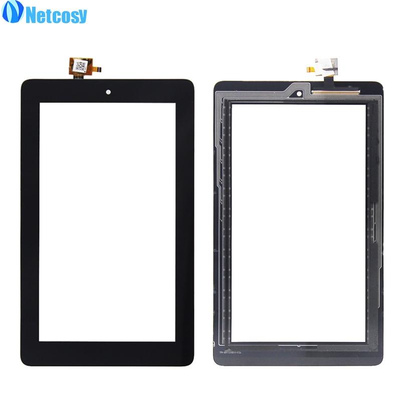 Netcosy для Amazon Kindle Fire 7 2015 HD5 HD 5 touch Панель черный Сенсорный экран Стекло Digitizer Запасные части сенсорной Экран