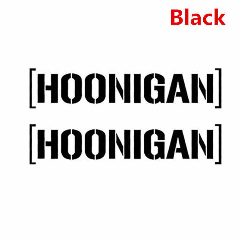 Newbee 15 см x 7 см Hoonigan, Кен Блок Дрифт JDM Moto Coche наклейка на машину, мотоцикл наклейка-украшение черная эмблема значок окна двери