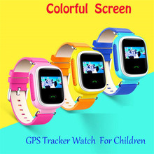 Children GPS Kids Smart Watch Wristwatch Q60 GSM GPRS Locator Tracker Anti-Lost Smartwatch Wearable Devices For iOS Android F8