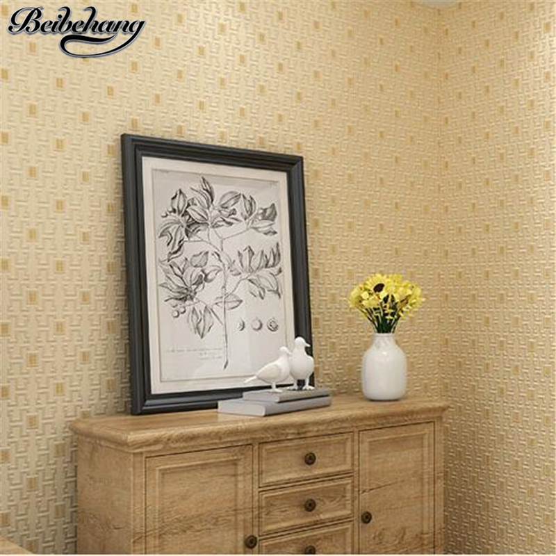 beibehang Chinese classical small grid 3D precision non - woven wallpaper bedroom living room TV study background wall wallpaperbeibehang Chinese classical small grid 3D precision non - woven wallpaper bedroom living room TV study background wall wallpaper